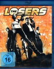 THE LOSERS Blu-ray - klasse bad guys Action Hit Zoe Saldana