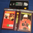 Fahrenheit 451 VHS CIC Rarität