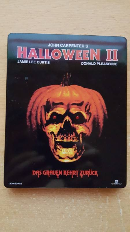 Halloween II - Bluray - Remastered Uncut Edition - Wie Neu