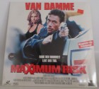 Maximum Risk - Uncut ( Laser disc)