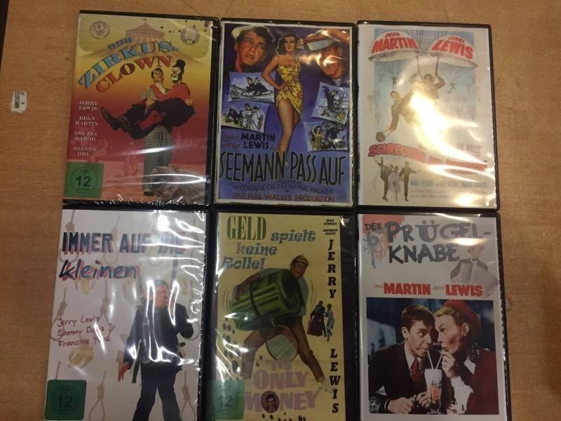 Das nagelneue XXXXL  Jerry Lewis Paket - 6 Titel DVD