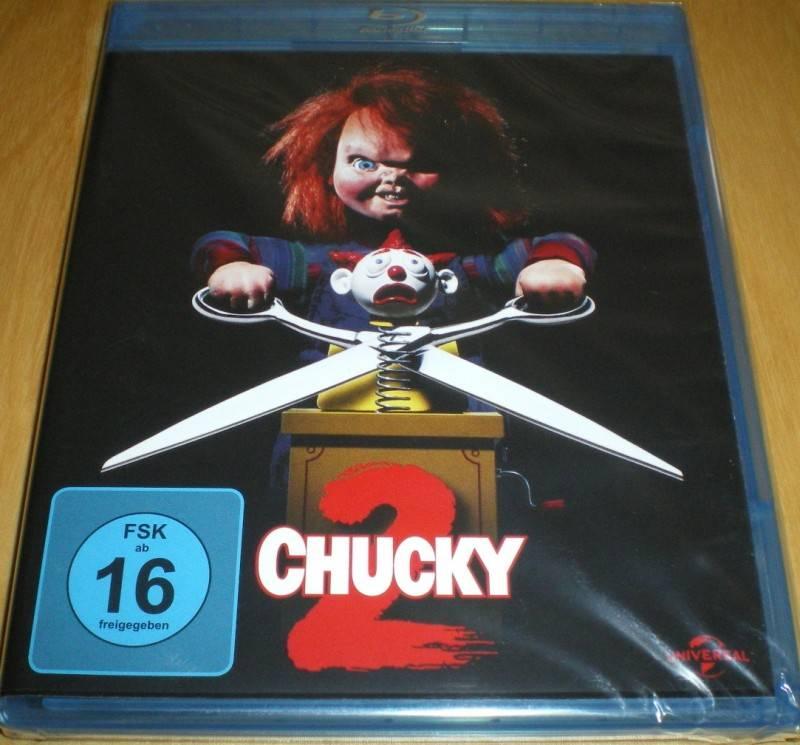 Chucky 2  Blu-ray  Neu & OVP