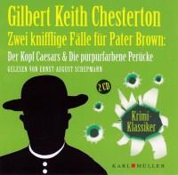 Zwei knifflige Fälle für Pater Brown Audio CD OVP