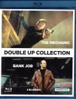 THE MECHANIC + BANK JOB 2x Blu-ray Jason Statham Action