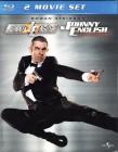 JOHNNY ENGLISH 1 & 2 2x Blu-ray - Rowan Atkinson Agenten Fun