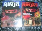 MACHT DER NINJA WMM DVD + MACHT DER NINJA 2 WMM DVD NEU