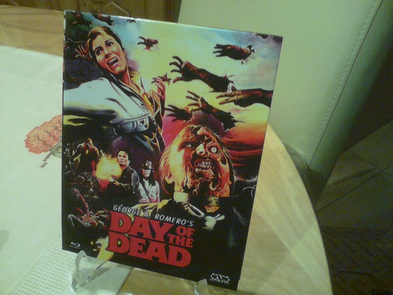 Day of the Dead blu-ray Hartbox