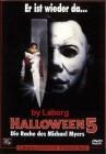 3x  DVD: Halloween 5 - Er ist wieder da..HALLOWEEN TIME