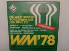 WM 78' - DIE WICHTIGSTEN TORE     (Ufa Rarität)