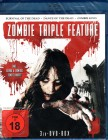 SURVIVAL OF THE DEAD + DANCE Of D. + ZOMBIE KING 3x Blu-ray