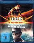 PITCH BLACK + RIDDICK Chronicles 2x Blu-ray Vin Diesel