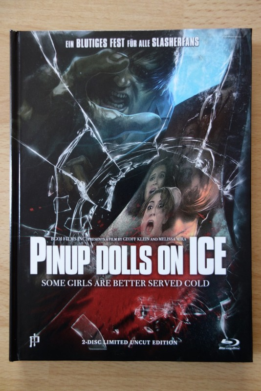 Pinup Dolls On Ice - Mediabook - Bluray/DVD