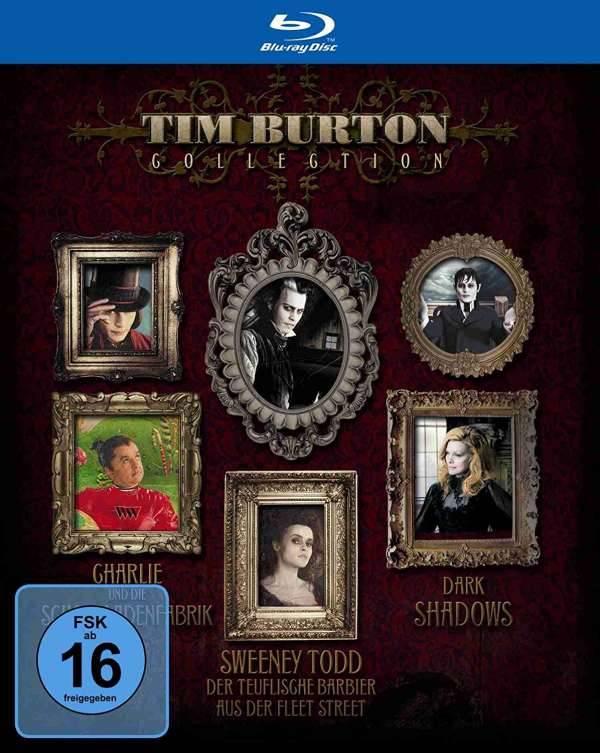 Tim Burton Collection - Blu-ray Schuber OVP