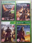 Gears of War 1,2,3 + Halo 3 - XBox 360