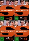 3x Department S - Volume 1-4  - 4 DVDs im Set