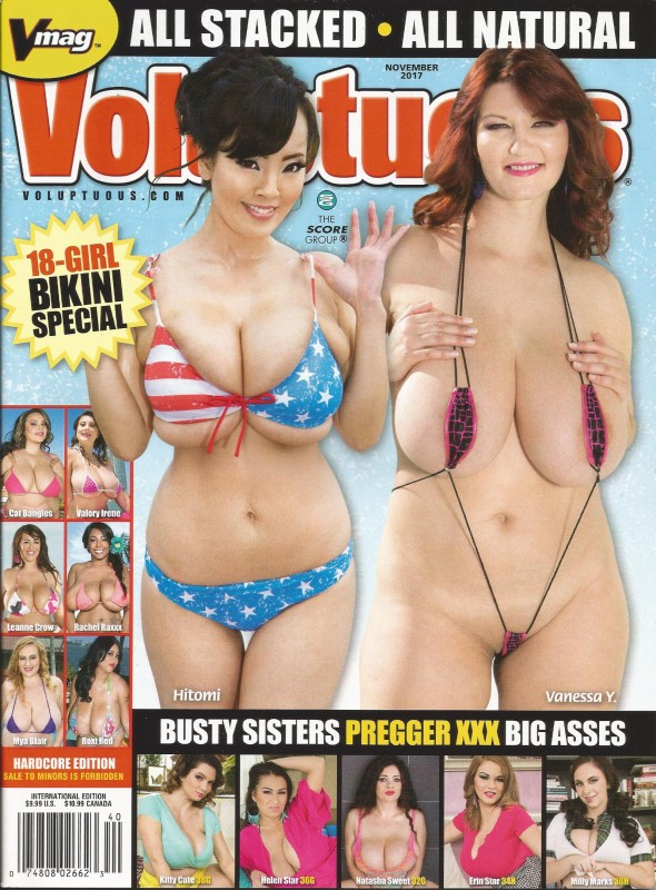VOLUPTUOUS NOVEMBER 2017 MAGAZINE