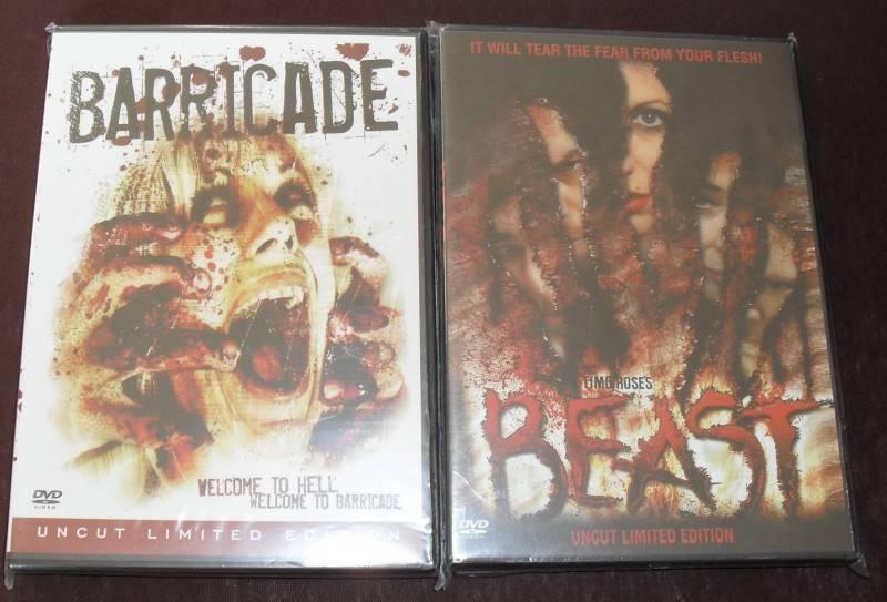 2 x Timo Rose - Uncut Limited DVDs Beast + Barricade RAR
