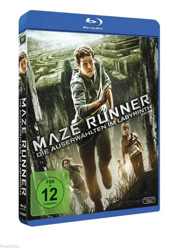 Maze Runner - Die Auserwählten im Labyrinth (Blu-Ray) NEU