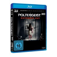 Poltergeist 3D+2D Blu-Ray Extended Edition NEU