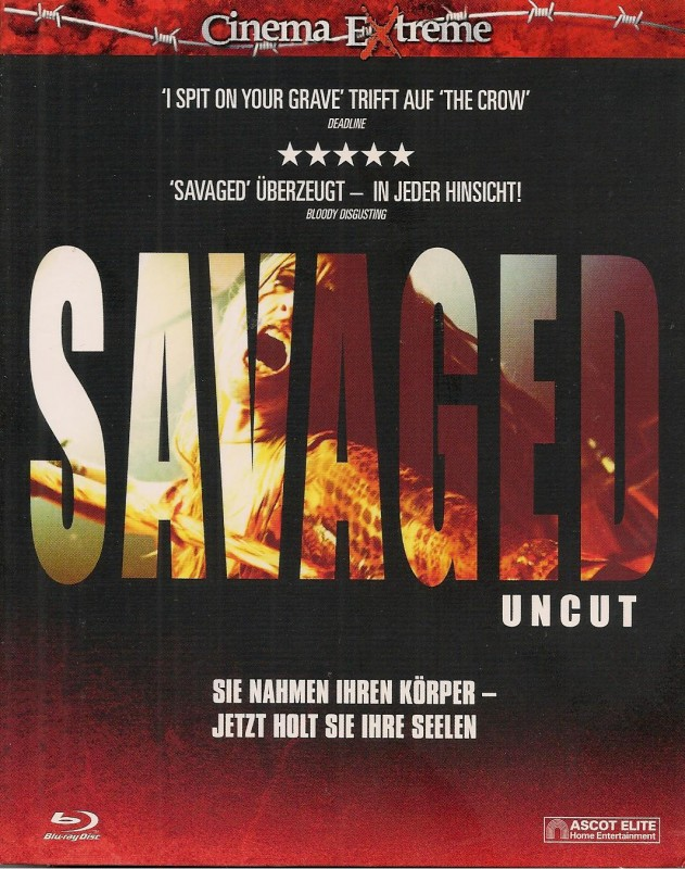 Savaged - uncut - Cinema Extreme (Blu Ray) NEU/OVP