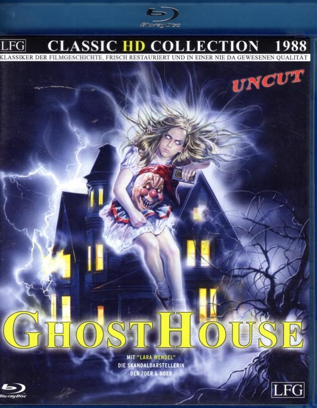 GHOSTHOUSE Blu-ray - Umberto Lenzi Horror Klassiker uncut