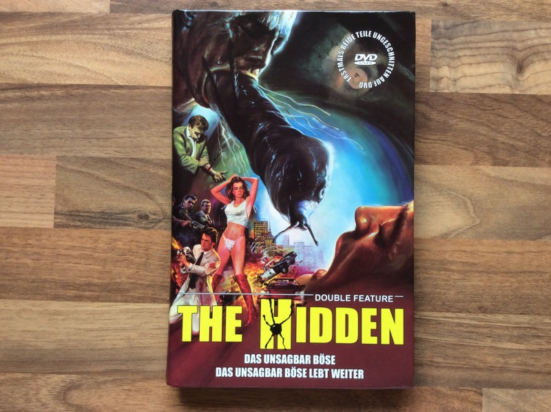 THE HIDDEN - DAS UNSAGBAR BÖSE I + II DVD - GROSSE HARTBOX -