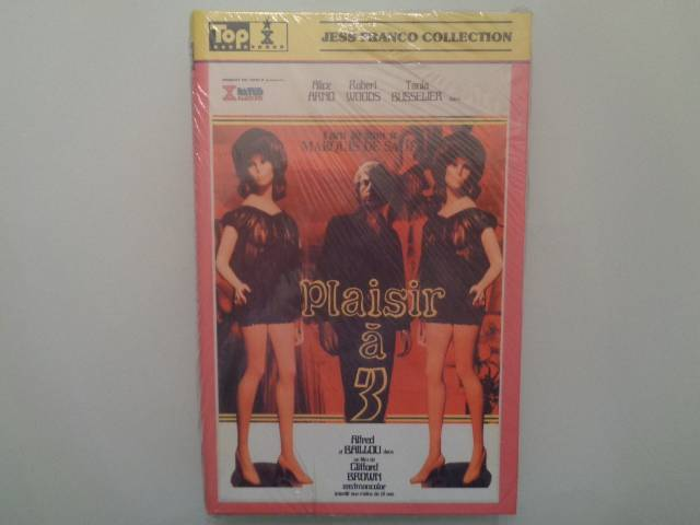 PLAISIR A 3 (Jess Franco)  -  Retro Toppic  Box -SELTEN