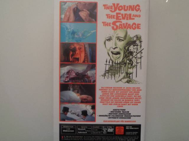 THE YOUNG, THE EVIL, THE SAVAGE -  Retro Video - SELTEN