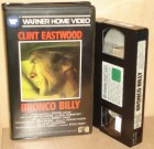 Bronco Billy VHS Warner Clint Eastwood