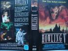 Howling V - Das Tier kehrt zurück ... Philip Davis ,,,  VHS