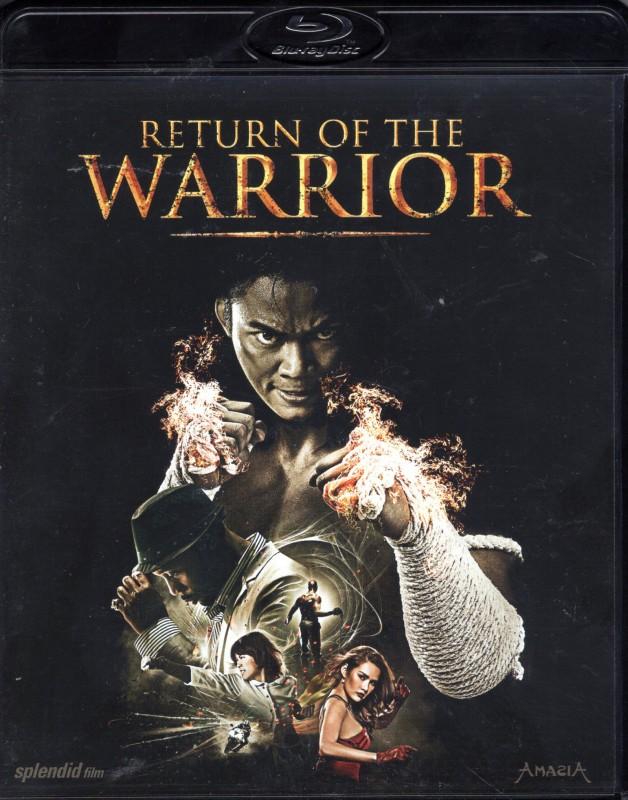 RETURN OF THE WARRIOR Blu-ray - Tony Jaa Martial Arts Action