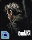The Gunman - Sean Penn Steelbook Blu-ray - NEU