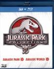 JURASSIC PARK + WORLD 3D COLLECTION 4x Blu-ray Box