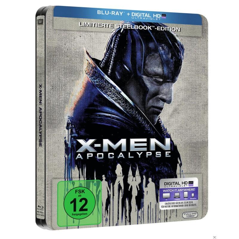 X-Men Apocalypse Blu-Ray Steelbook NEU