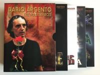 DVD-Box Dario Argento THE MASTERPIECES 4 Filme UNCUT