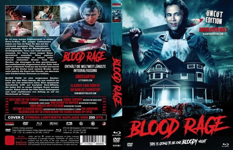 Blood Rage - Mediabook C - Uncut