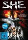 SHE - Eine brutale Reise in die Zukunft (Limit. Edition,DVD)