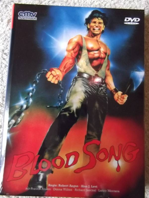 BLOOD SONG UNCUT DVD HARTBOX NEU / OVP