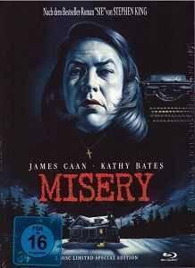 Mediabook Misery (uncut) 84  Blu-ray Lim #700/999 A (X)