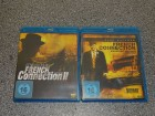 FRENCH CONNECTION 1 + 2 Gene Hackman Blu-Ray