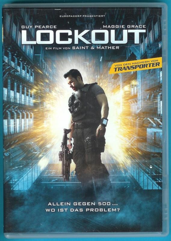 Lockout DVD Maggie Grace, Guy Pearce NEUWERTIG