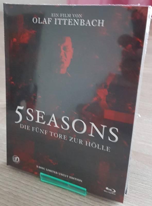 5 Seasons Olaf Ittenbach  Mediabook Cover B OVP