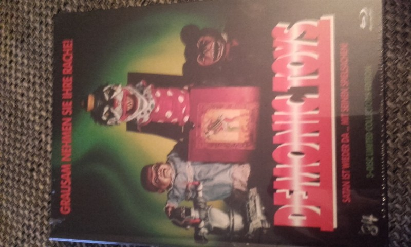 Demonic Toys             3 Disc Mediabook  Neu