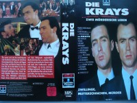Die Krays ... Gary + Martin Kemp, Tom Bell ... VHS    FSK 18