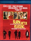 BURN AFTER READING Blu-ray George Clooney Brad Pitt - Coen