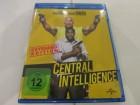 CENTRAL INTELLIGENCE mit Dwayne Johnson Blu-ray wie NEU