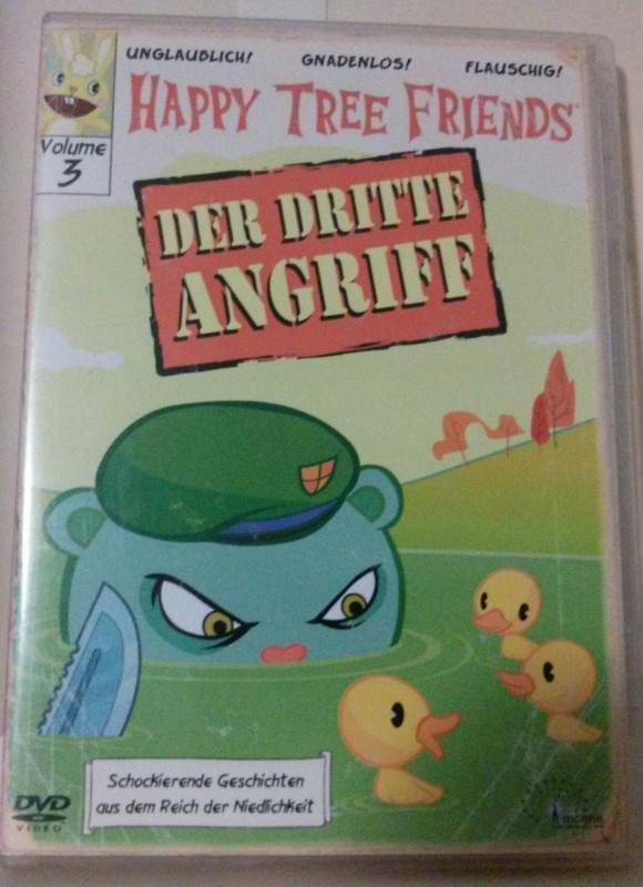 Happy Tree Friends Der 3. Angriff Erstausgabe! DVD Uncut (F)