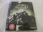 PS3 Spiel FALLOUT 3 UK UNCUT wie Neu Sony Play Station 3
