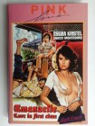 DVD Emanuelle Love in first class Sylvia Kristel Hartbox