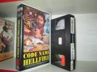VHS - Code Name Hellfire - Robert Ginty - Skyline